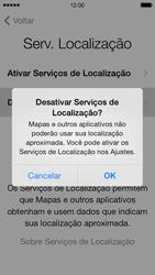 Apple iPhone iOS 7 - Primeiros passos - Como ativar seu aparelho - Etapa 13