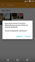 Sony Xperia X - Photos, vidéos, musique - Envoyer une photo via Bluetooth - Étape 12