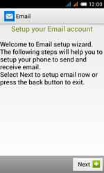 Alcatel OT-4033X Pop C3 - E-mail - Manual configuration - Step 5