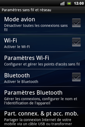 Sony Ericsson Xperia Mini Pro - Wifi - configuration manuelle - Étape 4