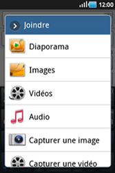 Samsung S5830 Galaxy Ace - MMS - envoi d'images - Étape 8