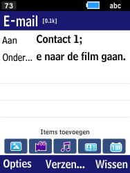 Samsung Xcover 550 (B550H) - E-mail - Bericht met attachment versturen - Stap 9
