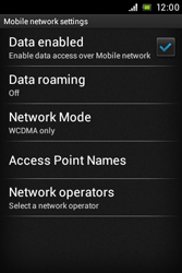 Sony C1505 Xperia E - MMS - Manual configuration - Step 6