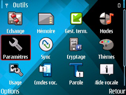Nokia E71 - MMS - configuration manuelle - Étape 5