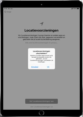 Apple iPad Air 2 - iOS 11 - Instellingen aanpassen - Hoe gebruik ik de Automatisch inloggen-optie - Stap 17