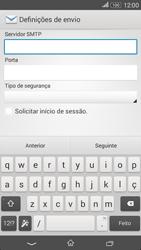Sony Xperia E4 - Email - Configurar a conta de Email -  16