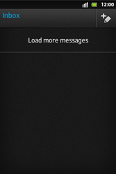Sony ST27i Xperia Go - Email - Sending an email message - Step 4