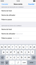 Apple iPhone 6 iOS 10 - Email - Configurar a conta de Email -  15