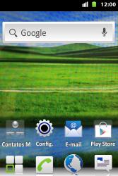Huawei U8667 - Rede móvel - Como ativar e desativar uma rede de dados - Etapa 1