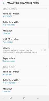 Samsung Galaxy S9 Plus - Photos, vidéos, musique - Prendre une photo - Étape 10