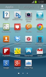 Samsung Galaxy Express - Photos, vidéos, musique - Envoyer une photo via Bluetooth - Étape 3