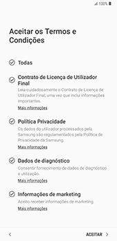 Samsung Galaxy Note 8 - Android Oreo - Primeiros passos - Como ligar o telemóvel pela primeira vez -  8