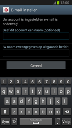 Samsung N7100 Galaxy Note II - E-mail - Account instellen (POP3 zonder SMTP-verificatie) - Stap 14