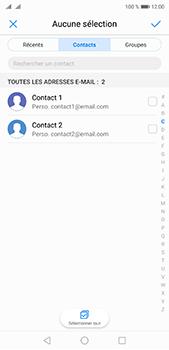 Huawei P20 Pro - E-mail - envoyer un e-mail - Étape 4