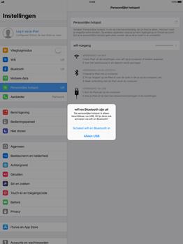 Apple iPad Pro 12.9 (1st gen) - iOS 11 - WiFi - Mobiele hotspot instellen - Stap 7