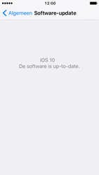 Apple iPhone 5c iOS 10 - Software update - update installeren zonder PC - Stap 6