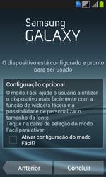 Samsung GT-I8552B Galaxy Win Duos - Primeiros passos - Como ativar seu aparelho - Etapa 14