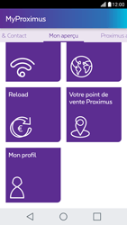 LG X Screen - Applications - MyProximus - Étape 21
