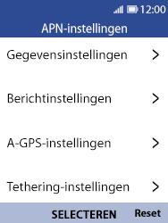 Nokia 8110-ta-1071 - Internet - Handmatig instellen - Stap 8