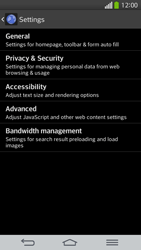 LG G Flex D955 - Internet - Manual configuration - Step 22