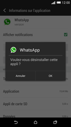 HTC One (M8) - Applications - Supprimer une application - Étape 7