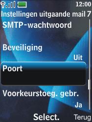 Nokia 6600 slide - E-mail - Handmatig instellen - Stap 22