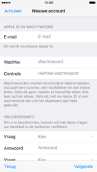 Apple iPhone 7 (Model A1778) - Applicaties - Account aanmaken - Stap 12