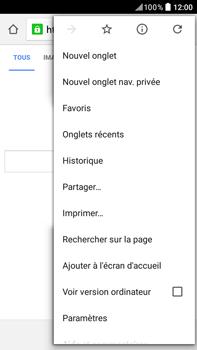 HTC Desire 825 - Internet et connexion - Naviguer sur internet - Étape 10