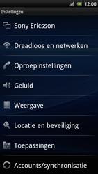 Sony Ericsson Xperia Neo V - Internet - aan- of uitzetten - Stap 4