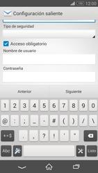 Sony Xperia Z3 - E-mail - Configurar correo electrónico - Paso 13