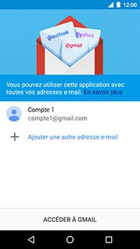 Motorola Moto E4 Plus - E-mails - Ajouter ou modifier votre compte Gmail - Étape 14