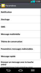 LG G2 - SMS - Configuration manuelle - Étape 6