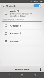 Sony Xperia Z1 4G (C6903) - Bluetooth - Aanzetten - Stap 6