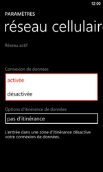 Nokia Lumia 920 LTE - Internet - activer ou désactiver - Étape 6