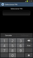 Samsung Galaxy S3 - Segurança - Como ativar o código de bloqueio do ecrã -  8