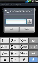 LG P990 Optimus 2X Speed - Voicemail - handmatig instellen - Stap 8