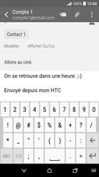 HTC Desire 530 - E-mails - Envoyer un e-mail - Étape 10