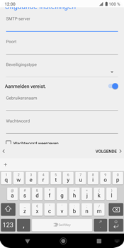 Sony Xperia XZ3 - E-mail - e-mail instellen: IMAP (aanbevolen) - Stap 17