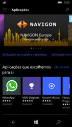 Microsoft Lumia 550 - Aplicações - Como pesquisar e instalar aplicações -  6