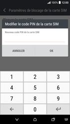 HTC Desire 530 - Sécuriser votre mobile - Personnaliser le code PIN de votre carte SIM - Étape 8
