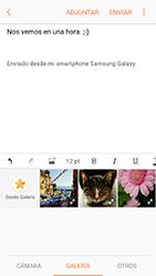 Samsung Galaxy A5 (2017) (A520) - E-mail - Escribir y enviar un correo electrónico - Paso 12