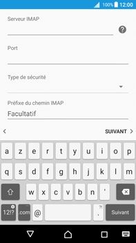 Sony Xperia Z5 Premium (E6853) - Android Nougat - E-mail - Configuration manuelle - Étape 13