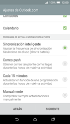 HTC One A9 - E-mail - Configurar Outlook.com - Paso 9
