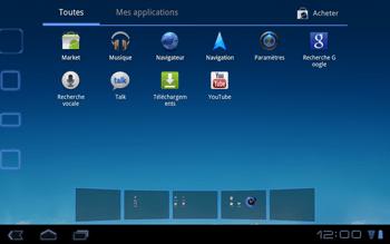 Huawei Mediapad S7-301u - Internet - Navigation sur internet - Étape 2