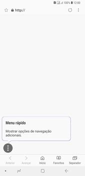 Samsung Galaxy A6 Plus DualSim - Internet no telemóvel - Como configurar ligação à internet -  24