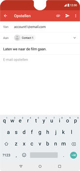 Wiko View 2 - E-mail - e-mail versturen - Stap 7