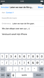 Apple iPhone 6s met iOS 9 (Model A1688) - E-mail - Hoe te versturen - Stap 8
