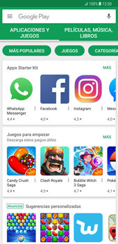 Samsung Galaxy Note 8 - Aplicaciones - Descargar aplicaciones - Paso 4