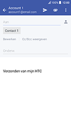 HTC U Play (Model 2PZM3) - E-mail - Hoe te versturen - Stap 8