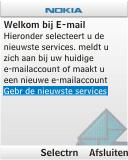 Nokia C1-01 - E-mail - e-mail instellen: POP3 - Stap 5